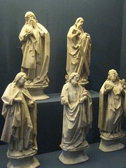 Five Apostles (unforth) Tags: newyorkcity sculpture newyork art museum french religious european manhattan christian artmuseum uppereastside metropolitanmuseumofart 15thcentury