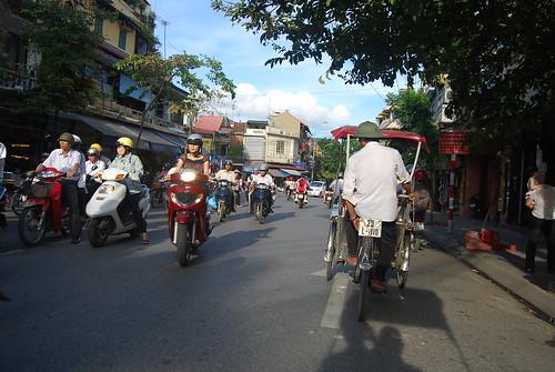 Las calles de Hanoi