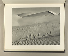 Fifty photographs : Edward Weston / Merle Armitage, Donald Bear, Robinson Jeffers, Edward Weston [no. 13 -- Dunes, Oceano 1936] (clarkvr) Tags: bear west landscape photography sand dunes books donald edward american merle robinson armitage weston oceano jeffers sterlingandfrancineclarkartinstitutelibrary