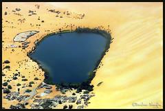 Gabr-Own ( Gaberoun, , Gabr Awhn ) Oasis Lake (Bashar Shglila) Tags: blue camping lake sahara water swimming gold sand desert oasis libya wadi   libyen oan    gabr lbia  libi  libiya alhaya awbari liviya libija  bentaher   gaberoun  awhn  5adkw   lbija  lby libja lbya liiba livi