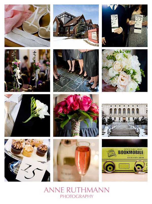 black white pink wedding colors