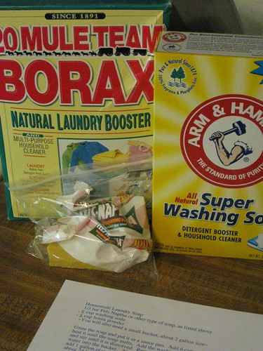Laundry Soap Ingredients