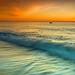 Sunrise for fishermen von cuellar