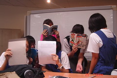 Teen Volunteers - The September Project 2008, Jurong Regional Library