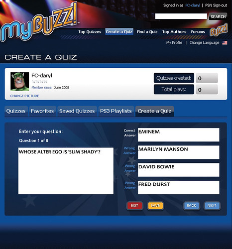 MyBuzz quiz