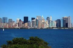 NYC Skyline from Ellis Island (Rats0056) Tags: newyorkcity newjersey jerseycity nikond50 ellisisland boatraces nyhnikond50 nyharbornikond50nikond50nikond50