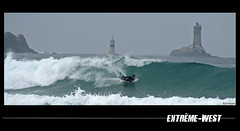 Extrme west (jo.pensel) Tags: lighthouse west fun brittany surf body board extreme wave bretagne breizh 29 vague phare onde bodyboard bzh finistre nautique pointeduraz pensel baiedestrpasss ouest plogoff francelandscapes jopensel