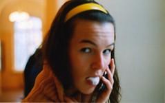 o (relationshit) Tags: yellow bubblegum