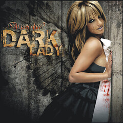 Britney Spears [Dark Lady] ( Omar Rodriguez V.) Tags: old black fashion stone wall lady dark blood artwork dress princess spears circus vampire fake makeup queen popart nails cover single draw blackout omar britney rolling edit rodriguez britneyspears corel blooded photopaint inthezone womanizer slave4britney