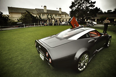 Spyker concept (j.hietter) Tags: california beach car monterey pebble exotic concept supercar spyker