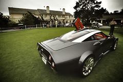 Spyker concept (j.hietter) Tags: california beach car monterey whole pebble exotic concept supercar spyker wholecar