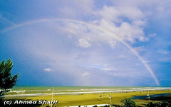 rainbow at sunrise....... [Cox's Bazaar Beach, Bangladesh]