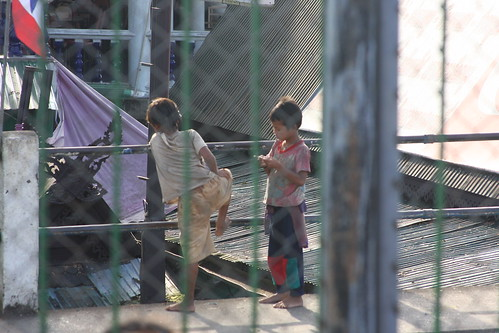 Kids at the Burma border