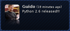 Python 2.6 released