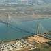 Pont de Normandie from above