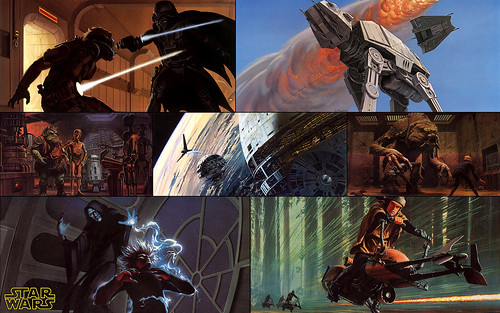 Ralph McQuarrie Star Wars Concept Art Wallpaper