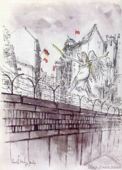 BerlinWall (Riviera SketchCrawl) Tags: ronald sketches searle