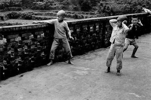 黑白童年-過年