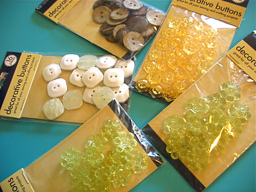 dollar tree buttons