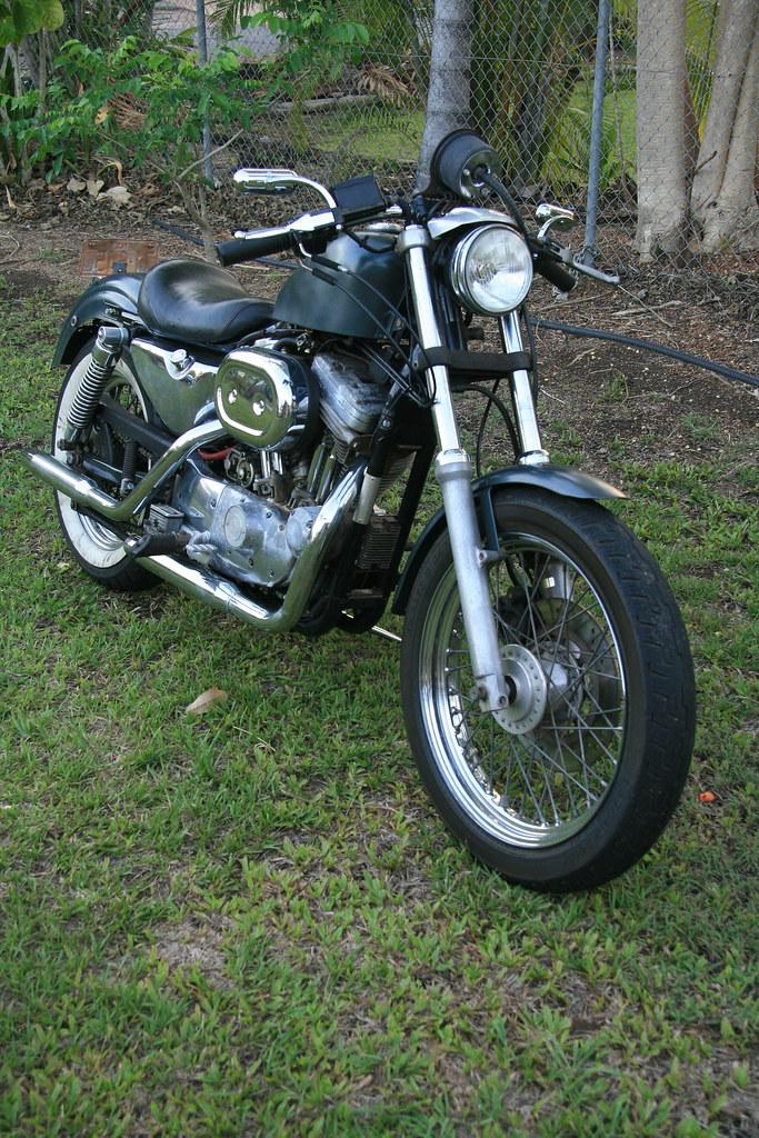 Hugh's Harley-Davidson Evolution Sportster