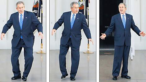 bush tap dance