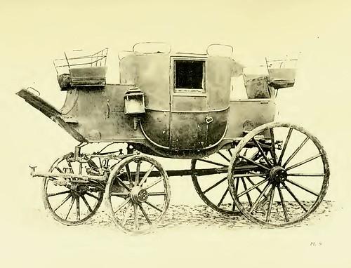 005-Berlina de postas llamada Dormilona epoca primer imperio siglo XIX