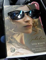 Ophelia's glasses (ek.adair) Tags: silly sunglasses book ophelia