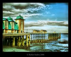 HDR Penarth Pier (*atrium09) Tags: travel wales pier cardiff olympus penarth soe hdr atrium09 colorphotoaward rubenseabra
