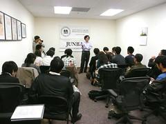 第4回鹿児島大学シリコンバレー研修ツアー  JSPS(日本学術振興会)にて
