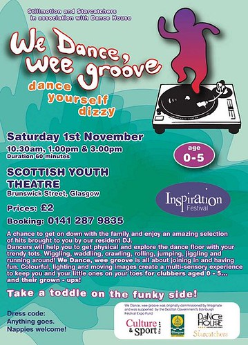 We Dance, wee Groove 011108 flyer