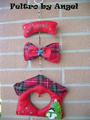 (Feltro by Angel Original) Tags: natal navidad promo mare felt linda belle bella feltro papel natale lindas carta tessuti filz galinhas palline galline amare natalizi natalizie cottone pannolenci adobbi