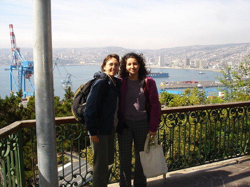 Dorothea and Macarena at Valparaiso Harbour