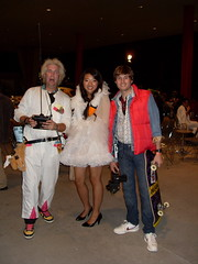 Doc Brown, Bjork and Marty Mcfly (elijahflores) Tags: doc 2008 marty lacma dmc