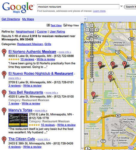 55406 Mexican Restaurants