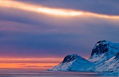 Painted-Sky (MichaelHD ( michaelhdavies.com )) Tags: sunset cloud snow ice clouds michael arctic h davies pangnirtung northof60 excapture michaelhdavies