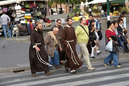梵蒂岡這的僧侶