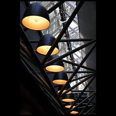 lamps, in line (Dreamer7112) Tags: light lamp lines architecture schweiz switzerland nikon europe suisse suiza zurich explore lamps zrich svizzera zuerich atschool d300 migros dreamer7112 nikond300 lampsinline