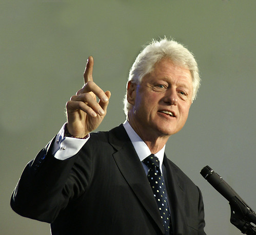 Bill Clinton - yes, I took this photo by Creativity+ Timothy K Hamilton, on Flickr