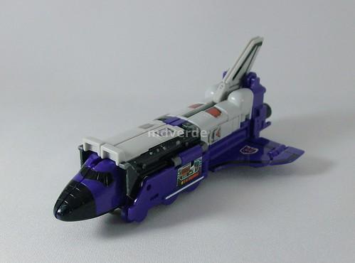 Transformers Astrotrain G1 - modo trasbordador