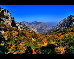 Autumn in the mountains (canmom ( Carrie )) Tags: mountains history turkey landscape ruins trkiye unescoworldheritagesite antalya hdr termessos theunforgettablepictures theperfectphotographer goldstaraward natureselegantshots flickrlovers