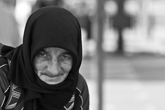.    . (Daniele Butera) Tags: old bw woman blackwhite donna eyes nikon solitude homeless bn occhi sguardo sicily nikkor palermo bianconero sicilia intensity clochard daniele indifference vecchia solitudine butera politeama indifferenza barbona d80 intensit danielebuteracom
