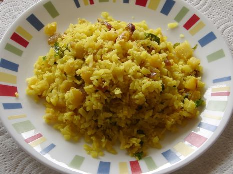 batata phovu | Konkani Recipes