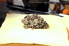 mushroom barley ricotta