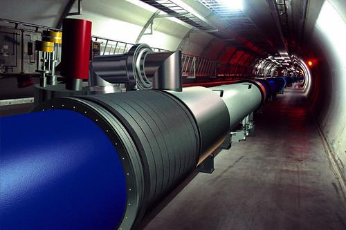CERN LHC colisionador de hadrones