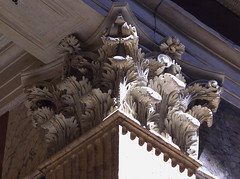 Pantheon Interior Pilaster Capital