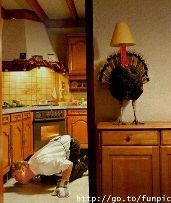 Turkey Lamp