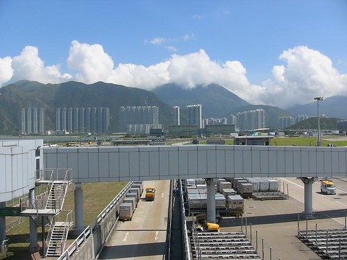 View from Hong Kong Airport