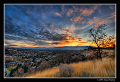 Thanksgiving! (James Neeley) Tags: sunset landscape utah logan hdr cachevalley 5xp mywinners jamesneeley