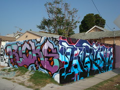 Ricks SkateAllCities Krush MSK AWR SeventhLetter LosAngeles Graffiti Art (anarchosyn) Tags: art graffiti losangeles awr msk ricks krush seventhletter skateallcities seventhdayproject