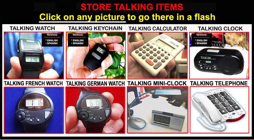 Talking Items ebay store